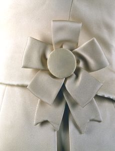 Inauguaral gala dress - closeup
