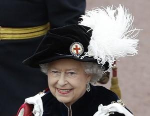 Order of the Garter  - Queen Elizabeth Garter hat