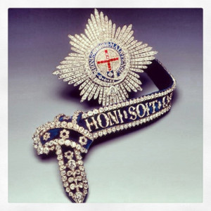 Order of the Garter - garter and star