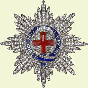 Order of the Garter  - star
