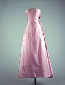 Pink evening dress 1