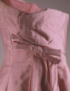 Pink evening dress 1 - back closeup