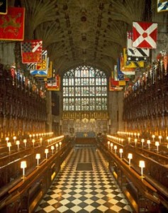 St. George's Chapel - Order of the Garter stalls