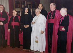 Vatican black dress 1