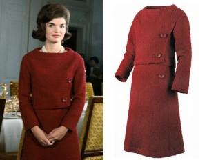 White House - television tour dress 1
