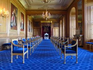 Windsor Castle - Garter Throne Room