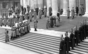 Churchill funeral 1a