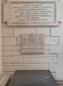 St Pauls - Christopher Wren 1