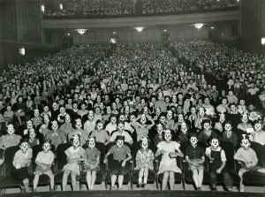 First Mickey Mouse Club meeting
