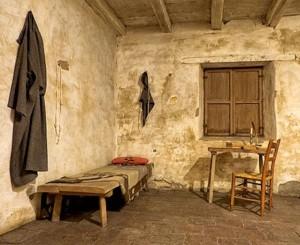 Mission Carmel  - Father Serra room