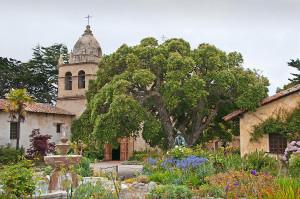 Mission Carmel  - gardens