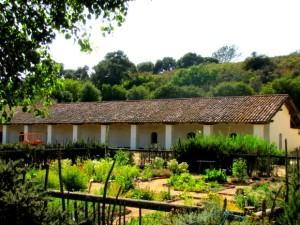 Mission La Purisima - gardens