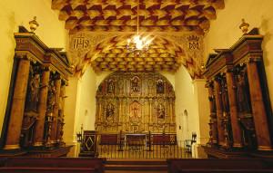Mission San Francisco de Asis - interior