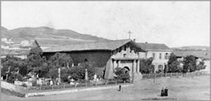 Mission San Francisco de Asis - old 1