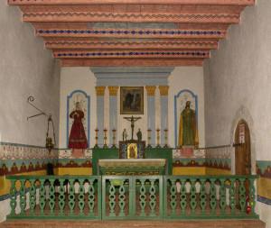 Mission San Francisco de Solano -interior
