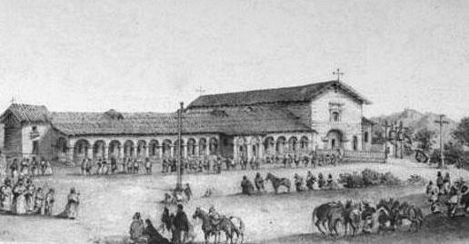 Mission San Juan Bautista - old