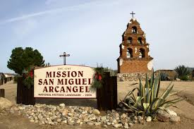 Mission San Miguel Arcangel - bell tower