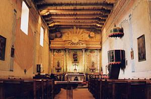 Mission San Miguel Arcangel - interior