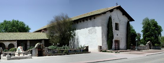 Mission San Miguel Arcangel - pano