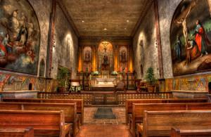 Mission Santa Barbara - interior