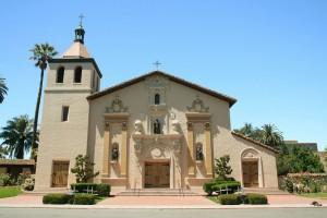 Mission Santa Clara De Asis - exterior