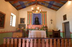 Mission Soledad - interior
