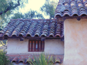 Mission tiles - roof