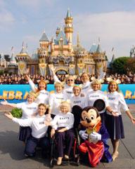 Mouseketeers - Disneyland 50th