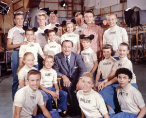 Mouseketeers with Walt