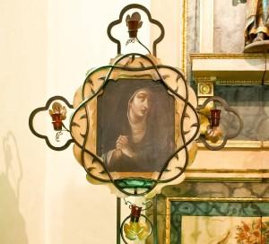 San Gabriel Arcangel - Our Lady of Sorrow painting 1