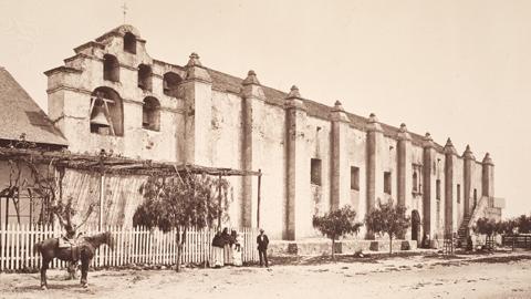 San Gabriel Arcangel - old photo