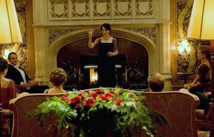 Downton Abbey - after dinner entertainment - charades