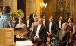Downton Abbey - after dinner entertainment - opera singer