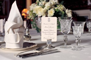 Downton Abbey - dinner place setting
