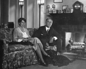 Franklin and Eleanor at home
