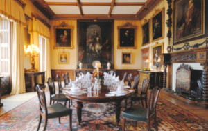 Highclere dining room