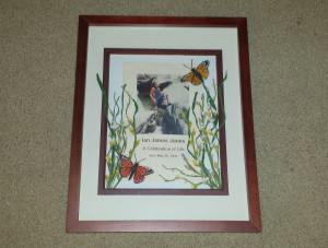 Framed memorial 2