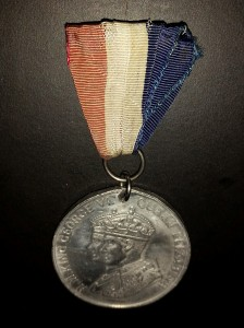 King George VI - coronation medal front