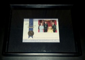 Queen Mother stamp and set