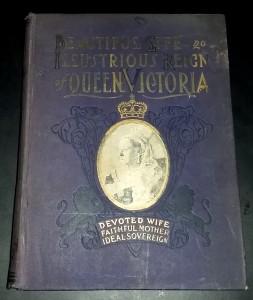 Queen Victoria book - front