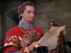 Basil Rathbone as Sir Guy