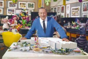 It's a Small World model with Walt Disney