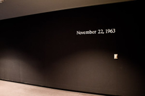 JFK Presidential Library  - November 22, 1963