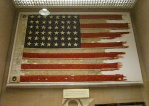 JFK Presidential Library  - PT-109 flag