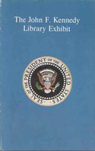JFK traveling exhibit brochure