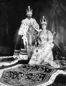 King George and Queen Mary - coronation