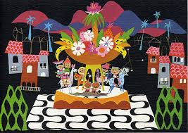 Mary Blair concept art for It's a Small World 2