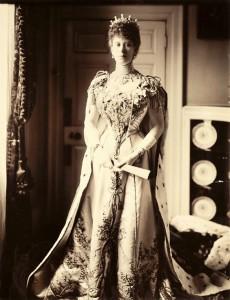 Princess Mary - coronation of King Edward II