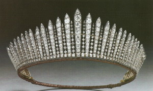 Queen Mary Fringe Tiara
