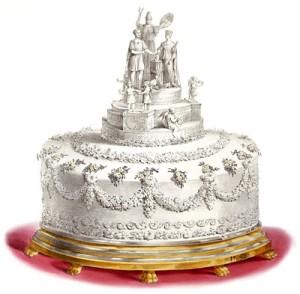 Queen Victoria wedding cake